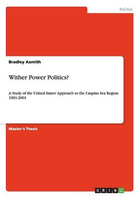 Wither Power Politics?