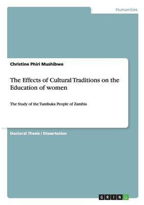 The Effects of Cultural Traditions on the Education of Women