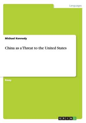 China as a Threat to the United States