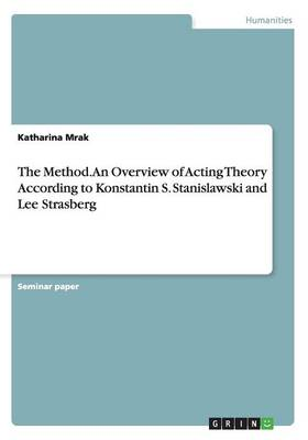 The Method. an Overview of Acting Theory According Tokonstantin S. Stanislawski and Lee Strasberg