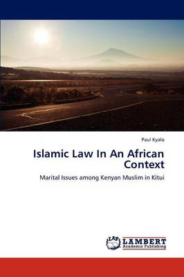 Islamic Law in an African Context