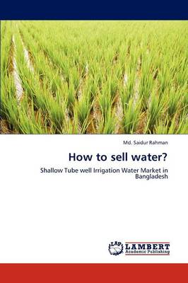 How to Sell Water?