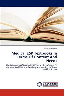 Medical ESP Textbooks in Terms of Content and Needs