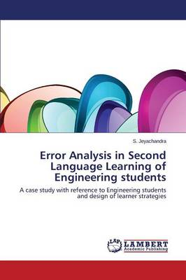 Error Analysis in Second Language Learning of Engineering Students