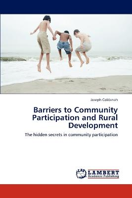 Barriers to Community Participation and Rural Development