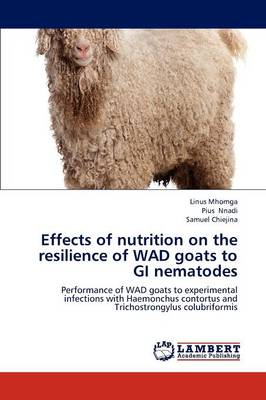 Effects of Nutrition on the Resilience of Wad Goats to GI Nematodes