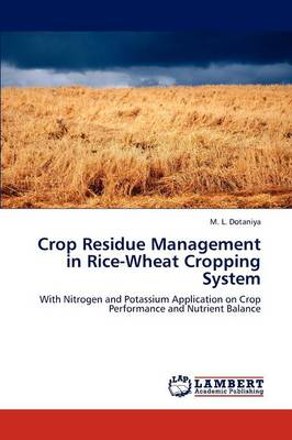 Crop Residue Management in Rice-Wheat Cropping System