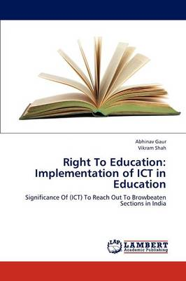 Right to Education: Implementation of Ict in Education