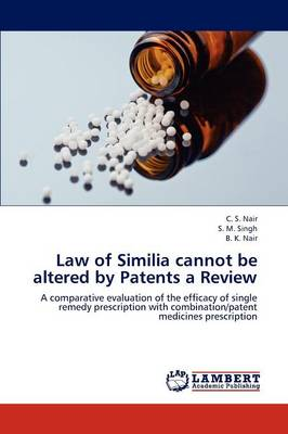 Law of Similia Cannot Be Altered by Patents a Review