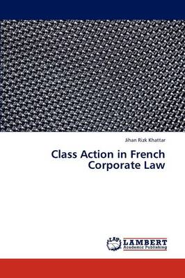 Class Action in French Corporate Law