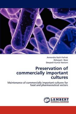 Preservation of Commercially Important Cultures