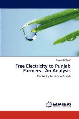 Free Electricity to Punjab Farmers: An Analysis