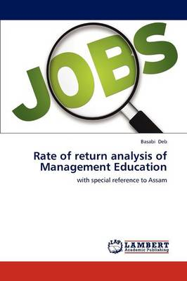 Rate of Return Analysis of Management Education