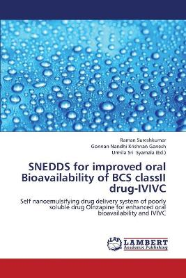 Snedds for Improved Oral Bioavailability of BCS Classii Drug-IVIVC