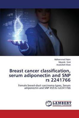 Breast Cancer Classification, Serum Adiponectin and Snp RS 2241766