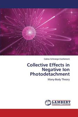 Collective Effects in Negative Ion Photodetachment