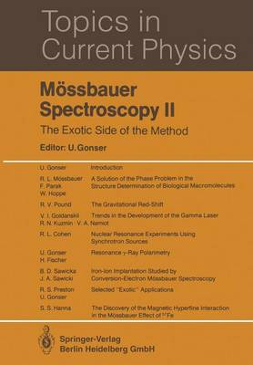 Mossbauer Spectroscopy II: The Exotic Side of the Method