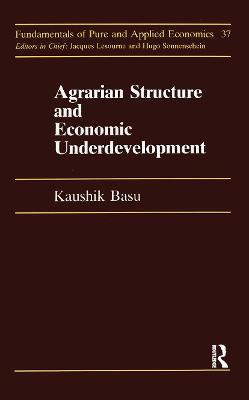 Agrarian Structure And Economi