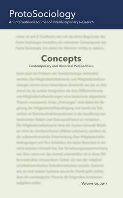 Concepts: Contemporary and Historical Perspectives