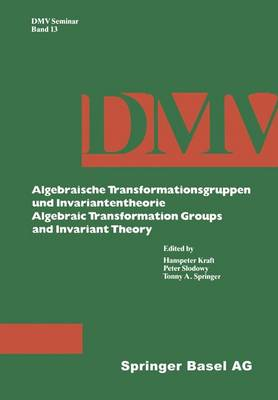 Algebraic Transformation Groups and Invariant Theory