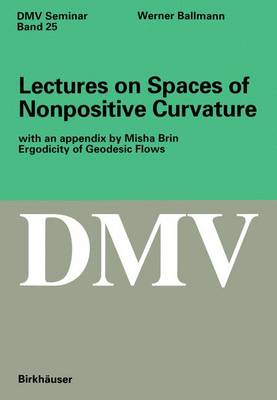 Lectures on Spaces of Nonpositive Curvature
