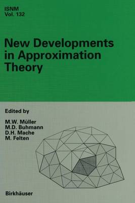 New Developments in Approximation Theory: 2nd International Dortmund Meeting (IDoMAT) '98, Germany, February 23-27, 1998