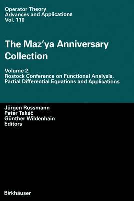 The Maz'ya Anniversary Collection: Volume 2: Rostock Conference on Functional Analysis, Partial Differential Equations and Applications