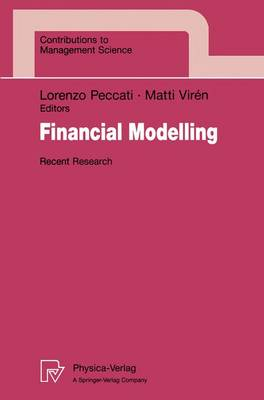 Financial Modelling: Recent Research
