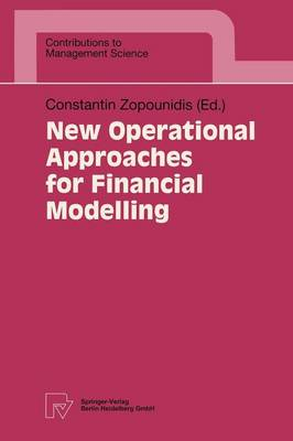 New Operational Approaches for Financial Modelling