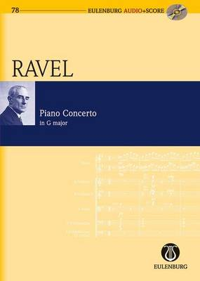 Piano Concerto G Major: Study Score + CD