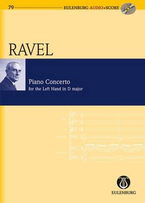 Piano Concerto for the Left Hand D Major: Study Score + CD