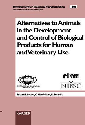 Alternatives to Animals in the Development and Control of Biological Products for Human and Veterinary Use: Congress, London, September 1998.