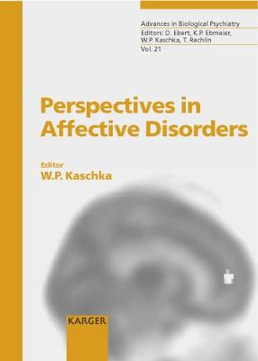 Perspectives in Affective Disorders: International Symposium '25 Years Weissenau Depression Unit', Weissenau, September 2001.
