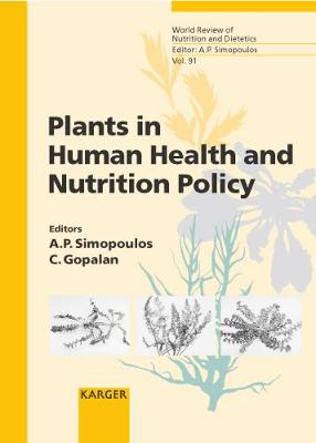 Plants in Human Health and Nutrition Policy