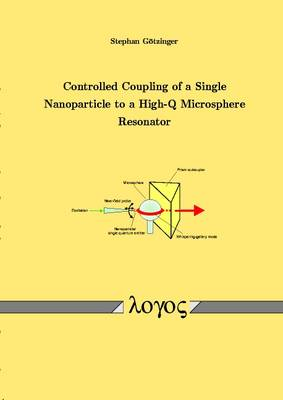 Controlled Coupling of a Single Nanoparticle to a High-Q Microsphere Resonator