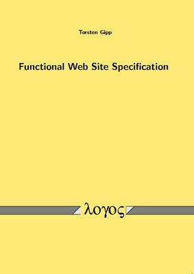 Functional Web Site Specification
