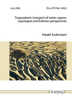 Tropospheric Transport of Water Vapour: Lagrangian and Eulerian Perspectives