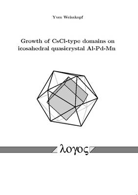 Growth of CsCl-Type Domains on Icosahedral Quasicrystal Al-Pd-Mn