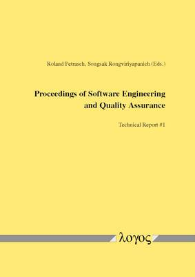 Proceedings of Software Engineering and Quality Assurance