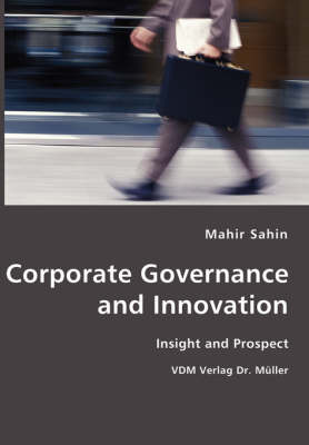 Corporate Governance and Innovation- Insight and Prospect