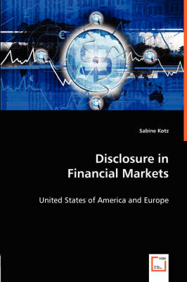 Disclosure in Financial Markets