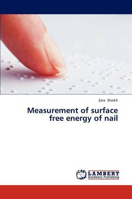 Measurement of Surface Free Energy of Nail