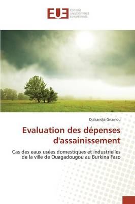Evaluation Des Depenses D'Assainissement