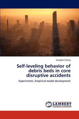 Self-Leveling Behavior of Debris Beds in Core Disruptive Accidents