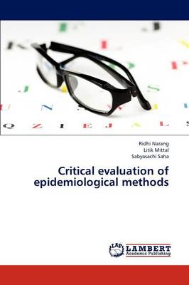 Critical Evaluation of Epidemiological Methods