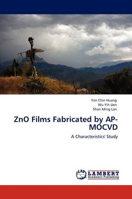 Zno Films Fabricated by AP-Mocvd