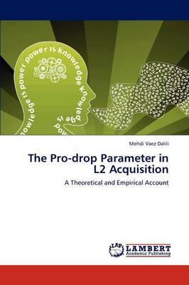 The Pro-Drop Parameter in L2 Acquisition