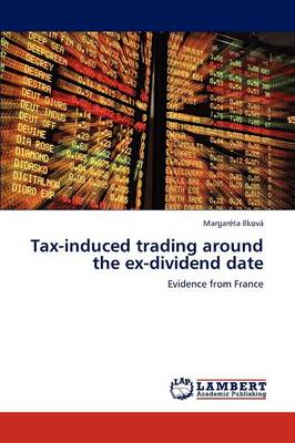 Tax-Induced Trading Around the Ex-Dividend Date
