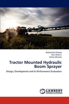 Tractor Mounted Hydraulic Boom Sprayer
