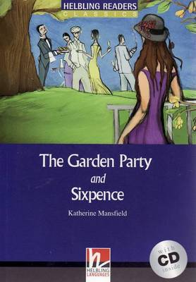 The Garden Party and Sixpence - Book and Audio CD Pack - Level 4